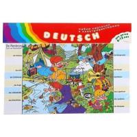 Набор карточек для Электровикторины Deutsch 1055