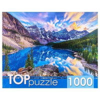 Пазл 1000 Канада. Рассвет над озером Морейн ГИТП1000-4135