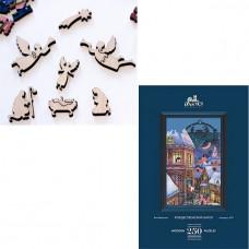Дер. Пазл Рождественский ангел 250 дет. 7-03-04-250
