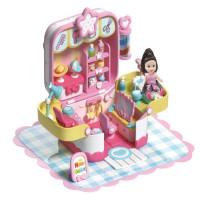Игровой набор 202QL Парикмахерская с куклой в кор.