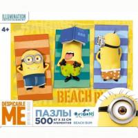 Пазл 500 Minions Beach bum 01682A Origami /6/
