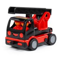 Автомобиль Мой первый автомобиль-пожарный MAMMOET в сетке 77356 П-Е /10/