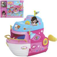 Игровой набор 078QL Яхта с куклой в кор.