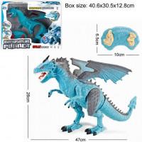 Динозавр р/у 6158ARS огнедышащий в кор.