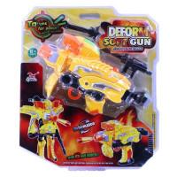 Трансформер 323-11 Пистолет с присосками на блист.