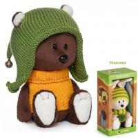 Медведь Федот в шапочке и свитере LE15-071