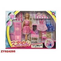 Кукла Kaibibi 251BLD С платьями и аксесс, в кор