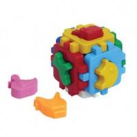 Логич.игрушка Куб Умный малыш Домашние животные Т1943 /интелком/