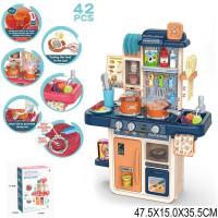 Игровой набор Кухня кран с водой, еда меняет цвет, свет, звук, в компл. 42 предмета JB0208144