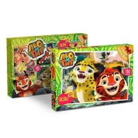 Пазл 160 Лео и Тиг Лучшие друзья+наклейки 03868 Origami