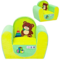 Мебель Кресло Медвежонок цв. Желтый+Салатовый PCR316-03