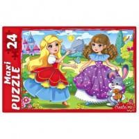 Пазл 24 эл. МАКСИ Девочки принцессы ПМ24-7318