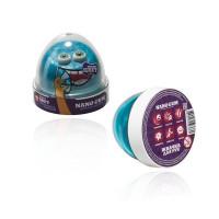 Жвачка для рук Nano gum Серебристо-голубой 50 гр.