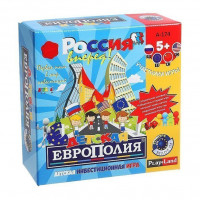 Игра Детская Европолия экономическая А-174
