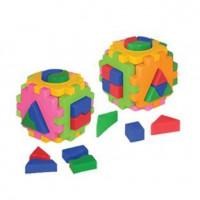 Логич.игрушка Куб умный малыш Комби Т2476 /интелком/
