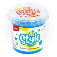 Лизун STYLE SLIME перламутровый Голубой с ароматом тутти-фрутти 150мл. Сл-005 LORI
