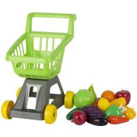 Тележка для супермаркета с фруктами и овощами У958