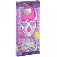 Набор косметики Eva Moda косметичка-сердце 10235D2 Bondibon