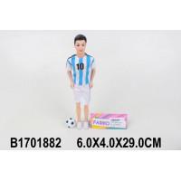 Кукла 104-6А Кен футболист в пак.