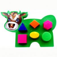 Логич.игрушка Коровка 2С466