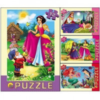 Пазл 12 Сказки для принцесс П12-1264