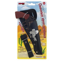 Пистолет Опасные приключения 8-мизарядный, пистоны MAR1107-009