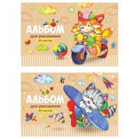 Альбом д/рис. 40 л. Веселые мультяшки А40_20249 ArtSpace