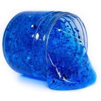 Лизун Джелли слайм готовый М86 синий с блестками Master IQ²