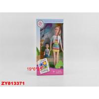 Кукла 200-15JX Мама с ребенком, в кор.