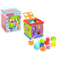 Логич. игрушка Куб IT104394 на бат., в кор.