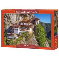 Пазл 500 Монастырь на скале, Бутан В-53445 Castor Land
