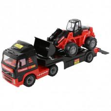 Автомобиль-трейлер + трактор-погрузчик 204-01 MAMMOET VOLVO 56733П-Е /4/