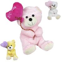 Медведь 30см с воздушным шаром 141-833С