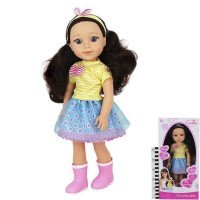 Кукла 555-3HX Lunabebe с аксс. в кор.