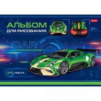 Альбом д/рис. 24 л. Car Design 24А4В Hatber