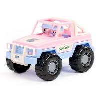 "Автомобиль Джип ""Сафари"" (розовый) П-Е 90218 /16/"