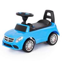 Каталка-автомобиль SuperCar №3 со звуковым сигналом голубая 84484 П-Е /1/