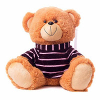 Медведь в футболке 30х35х25см См-719-5