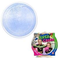 Лизун Слайм с синими блестками 160гр. Super Слайм