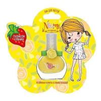 Лак для ногтей для девочек NOMI №18 Cладкий лимон в блистере 4650065880589