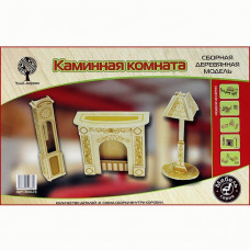 Дер. констр-р Мебель Каминная комната 80023