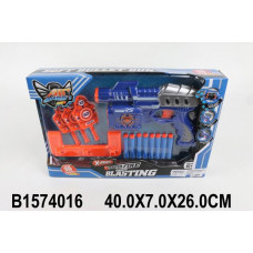 Бластер 3906A-JL с безопасными пулями и мишенью, в кор.