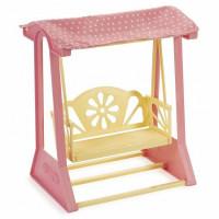 Качель Маленькая принцесса нежно-розовые С-1516
