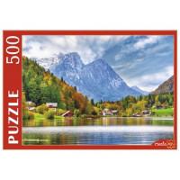 Пазл 500 Австрия. Озеро Грундльзе ГИП500-0614