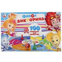 Игра Умка Викторина 100 вопросов Фиксики 4690590109403