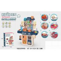 Игровой набор 709-MJL Кухня с водичкой и аксесс. в кор.