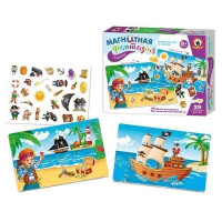 Игра на магнитах Пираты 05416