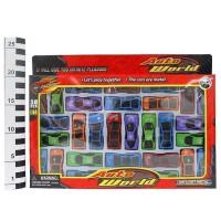 Набор машин металл 1330-ВА 30 шт. LITTLE ANT