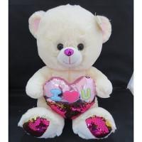 Медведь 31 см 141-638O с сердцем
