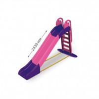 Горка большая 014550/9 розовый/фиолетовый